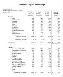 Nonprofit Budgeting 8 Non Profit Budget Templates Word Pdf Excel Apple