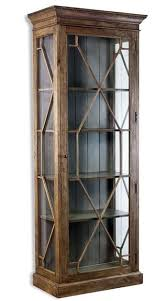 rustic curio cabinet. Beautiful Rustic Cielo French Gray Modern Rustic Display Curio Cabinet With Pinterest