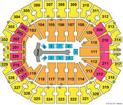 Kfc Yum Center Tickets And Kfc Yum Center Seating Charts