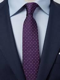 Purple Tie Light Blue Shirt Wedding Ties Mens Ties Free Shipping John Henric