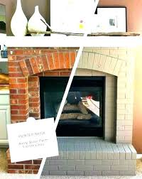 red brick fireplace ideas exciting painting red brick fireplace fireplace paint ideas painting brick fireplace ideas