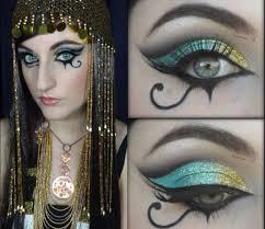 cut crease egyptian look