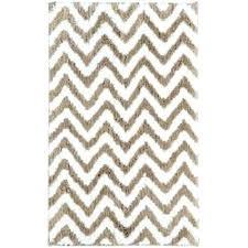 30x50 bath rug bath rug park bath rug non skid scallop chevron blue white tan new