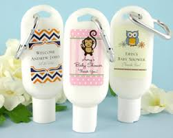 Exclusive Personalized Baby Shower Sunscreen  My Wedding FavorsBaby Shower Personalized Gifts