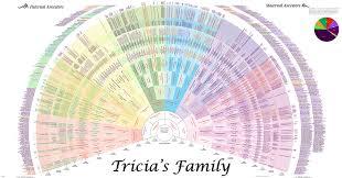 20 Generation Pedigree Chart Genealogy Wall Charts