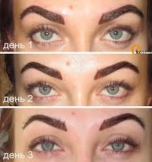 перманентный макияж губ век бровей все о процедуре а также