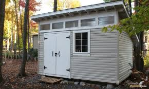 how to build a shed with a slanted roof