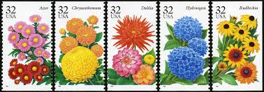 fall garden flowers. 29c Fall Garden Flowers Approved Stamp Art. Refer To Caption