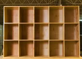 custom made extra large cubby storage bin shelves