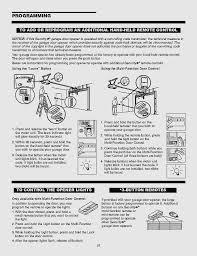 one piece garage door opener inspirational chamberlain garage door opener manual