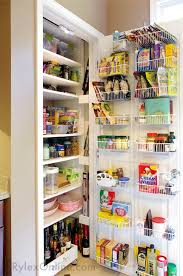 Kitchen Pantry with Door Rack ...