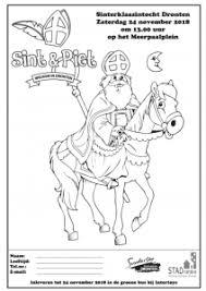 Maak Een Kleurplaat Voor Sinterklaas Suydersee Dronten Suydersee