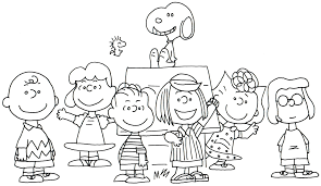 Small Picture Charlie Brown Thanksgiving Coloring Pages zimeonme