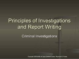Crime Report Template Simple Police Report Writing