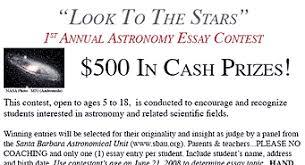 kids astronomy essay contest sky telescope kids astronomy essay contest