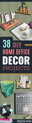 home office decor ideas. DIY Home Office Decor Ideas - Do It Yourself Desks, Tables, Wall Art,