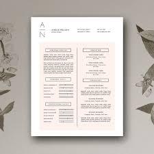 Resume & Cover Letter | Cv Design ~ Resume Templates ~ Creative Market