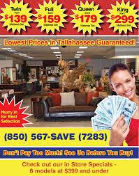 Tallahassee Discount Furniture Tallahassee FL Mattresses