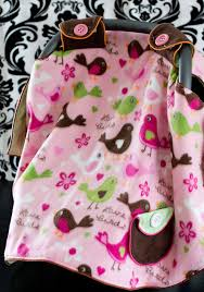 Free Baby Car Seat Canopy Pattern Tent Cover How To ♥ Fleece Fun
