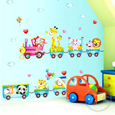 train wall decor sticker train wall stickers jungle wall decor kids room home thomas train wall decor