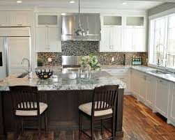 Traditional Kitchens Designs Awesome I Like That The Upper Glass Open Upwards And Over 48 Doors To Give