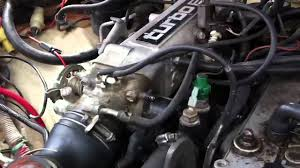 87 Toyota turbo truck - YouTube