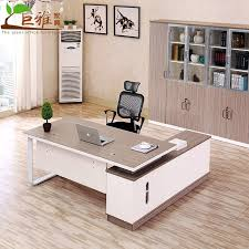 New office desk Office Furniture Table All Categories Urbangreen Furniture Factory Direct New Office Desk Boss Table And Chair Combination Simple