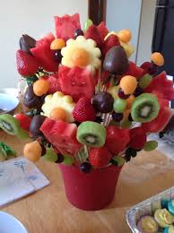Diy Edible Arrangement With Fresh Fruits And No Citric