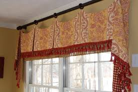 Yellow And Red Kitchen Curtains Decoration Toile Kitchen Curtains Ideas Interior Waverly