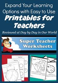 Easy to Use Printables for Teachers for Learning   Day By Day in ...