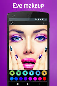 you face makeup editor apk screenshot