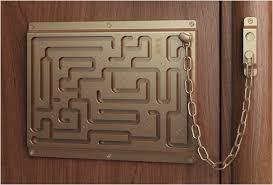 Door chain lock Strong Defendius Labirinth Door Chain Image Ebay Defendius Labirinth Door Chain