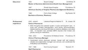 Pharmacist Resume Objective Sample clinical pharmacist resume tigertweetme 99