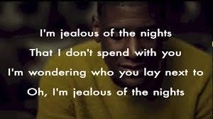 Labrinth Jealous Lyrics