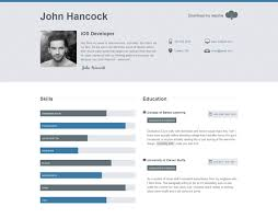 40 Top CV Website Template Designs For You Interesting Best Resume Websites