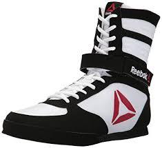 reebok boxing boots. reebok men\u0027s boxing boot-buck sneaker, delta-white/black, boots o