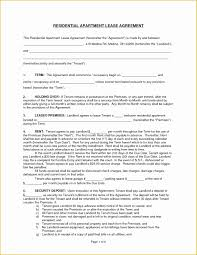 Free Lease Template Of California Residential Lease Agreement