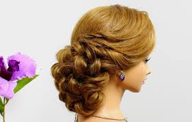 Wedding Hair Style Picture curly prom hairstyle for long medium hair tutorial wedding updo 1301 by wearticles.com