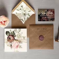 Wedding Invitation Folding English Garden Luxury Folding Wedding Invitations Save The Date