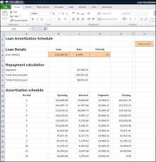 loan amortizing loan amortization schedule calculator plan projections