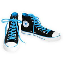 converse shoes blue and black. converse chuck taylor all star black and blue high tops shoes pinterest
