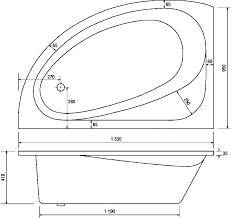 what is the standard size of a bathtub dimensions of a bathtub standard size corner sizes