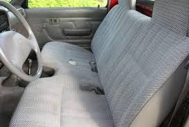 image gallery of solid bench seat covers le