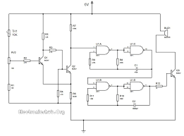 thermistor temperature sensor alarm circuit diagram electronic thermistor temperature sensor alarm circuit diagram