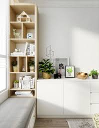 Scandinavian Wooden Bookshelves