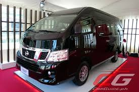 2018 nissan urvan.  urvan the 2017 nissan urvan premium will be available for sale by june with  a price of p 1650000 three colors are available alpine white black obsidian  inside 2018 nissan urvan c