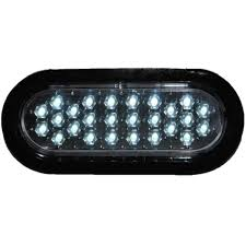 6 Oval White Led Lights