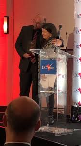 """Ciesla Foundation on Twitter: """"The Ciesla Foundation's director, Aviva  Kempner, was recognized by @DC_Vote this evening as a Champion of  Democracy!… """""""