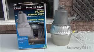 regent nh 1204m 175 watt mercury vapor security light old loud commentary you
