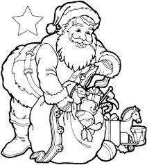 Disegni Da Colorare E Da Stampare Di Babbo Natale Coloratutto Website